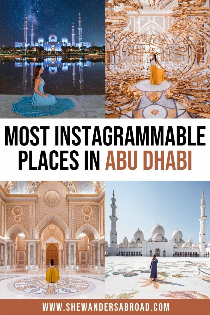 Most Instagrammable Places in Abu Dhabi