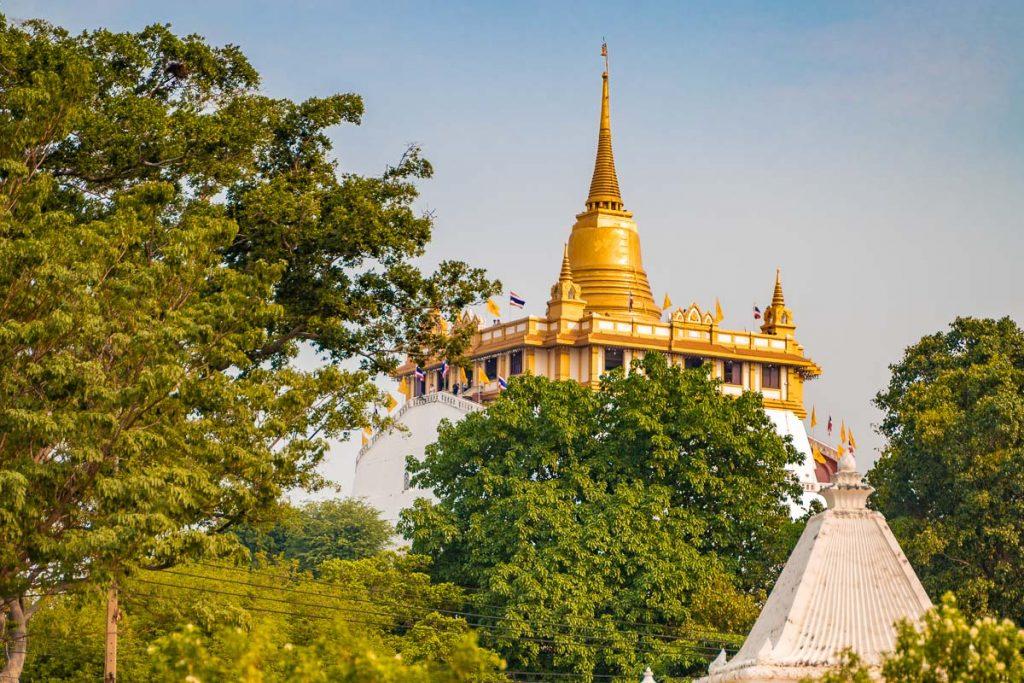 The Golden Mount (Wat Saket) temple in Bangkok