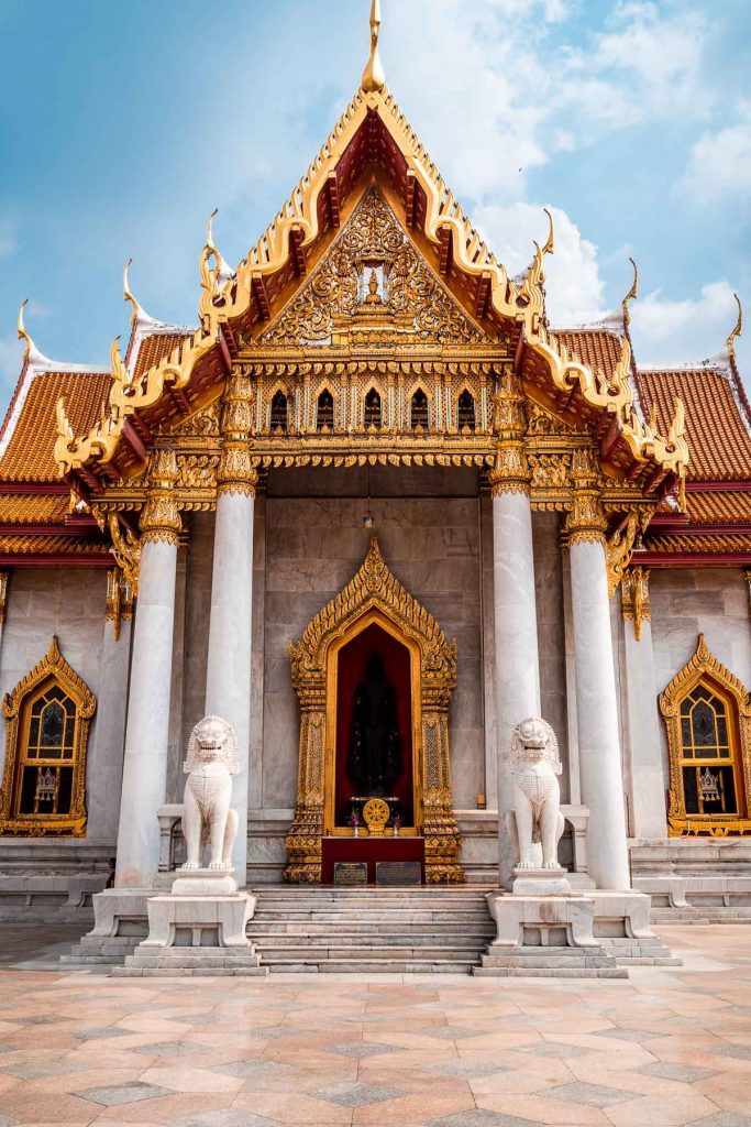 Wat Benchamabophit, the Marble Temple in Bangkok