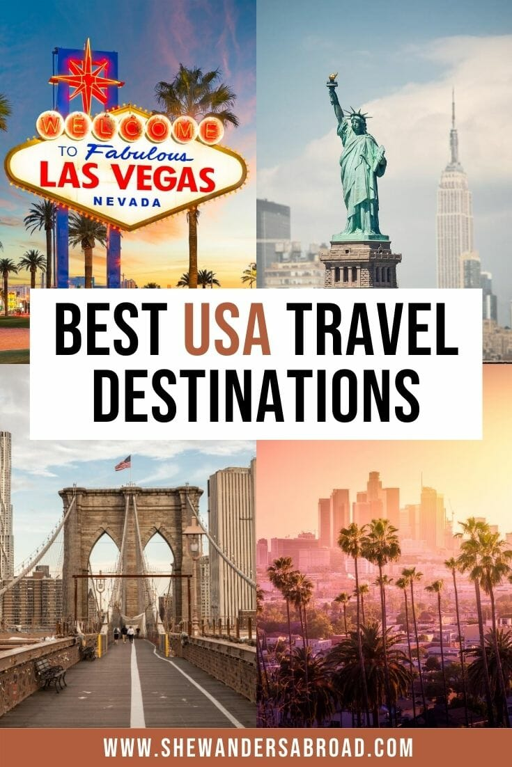 Usa Bucket List 30 Best Places To Visit In The United States She Wanders Abroad