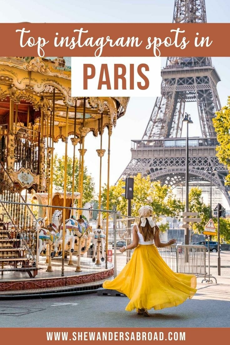 Top 25 Most Instagrammable Places in Paris