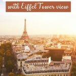 Best Airbnbs in Paris with Eiffel Tower View