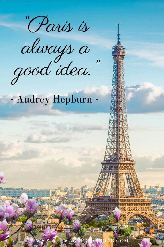 Paris quotes and captions