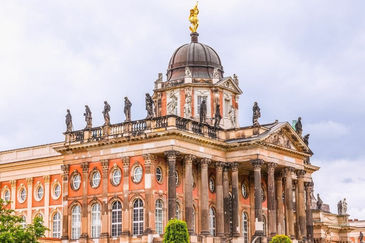Neues Palais in Potsdam, Germany