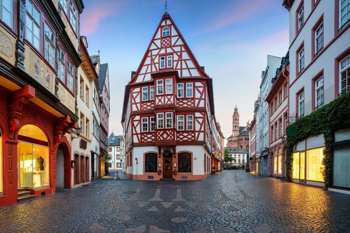 Old Town of Mainz, Germany