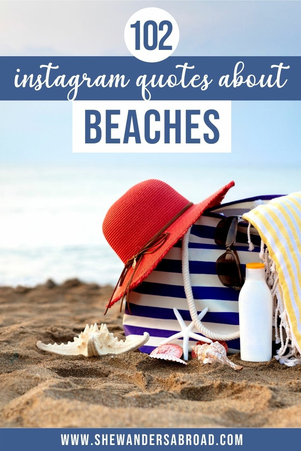 Amazing Beach Captions for Instagram (Quotes, Puns and More!)