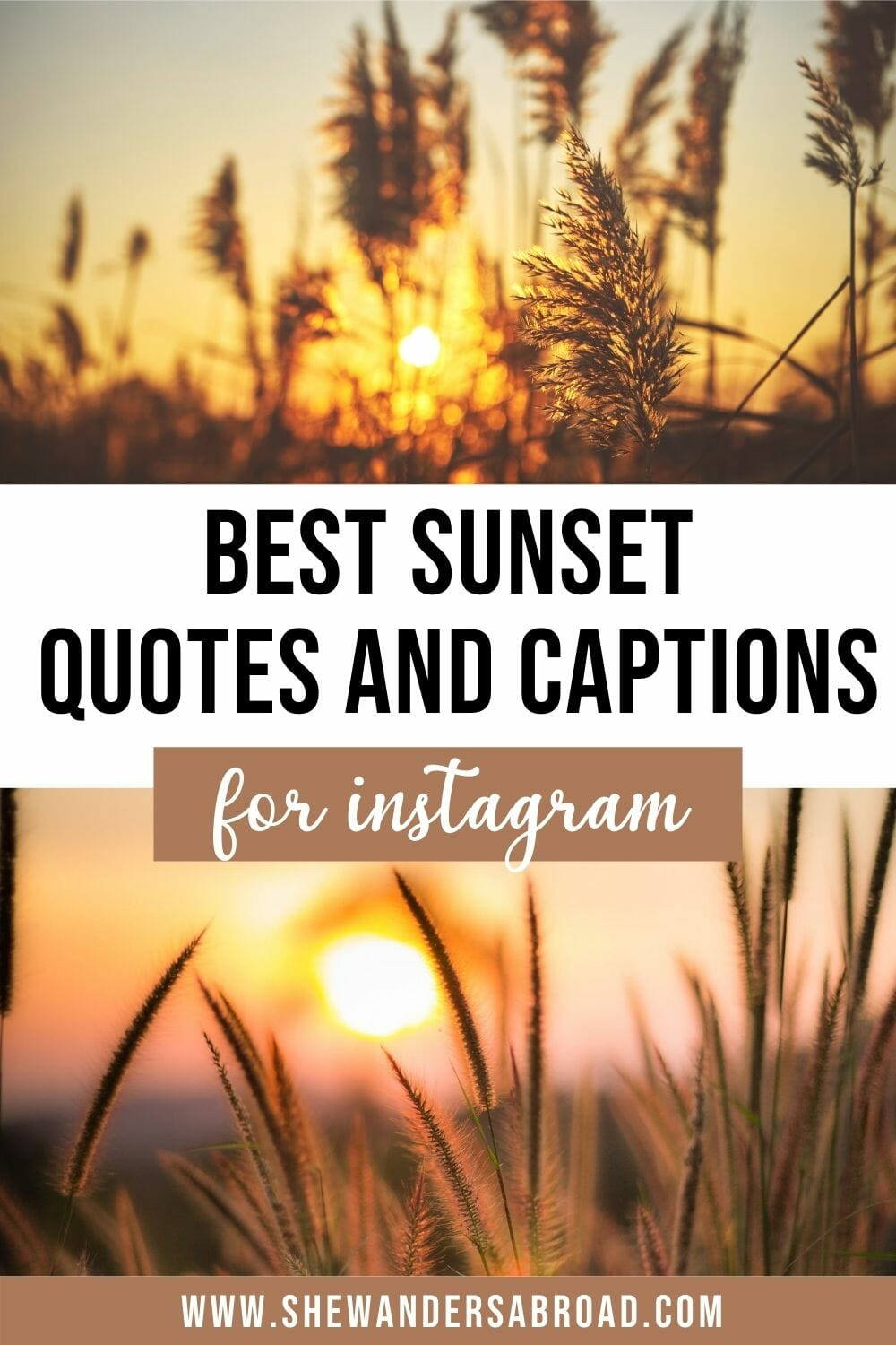 160 Best Sunset Captions for Instagram (Quotes, Puns and More!)