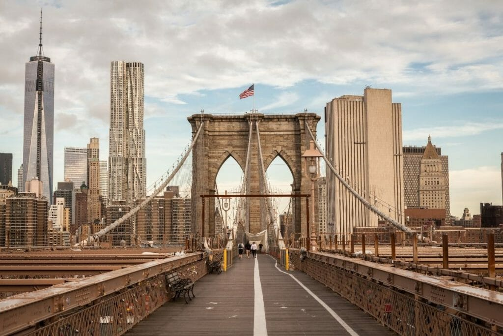 Brooklyn bridge in NYC