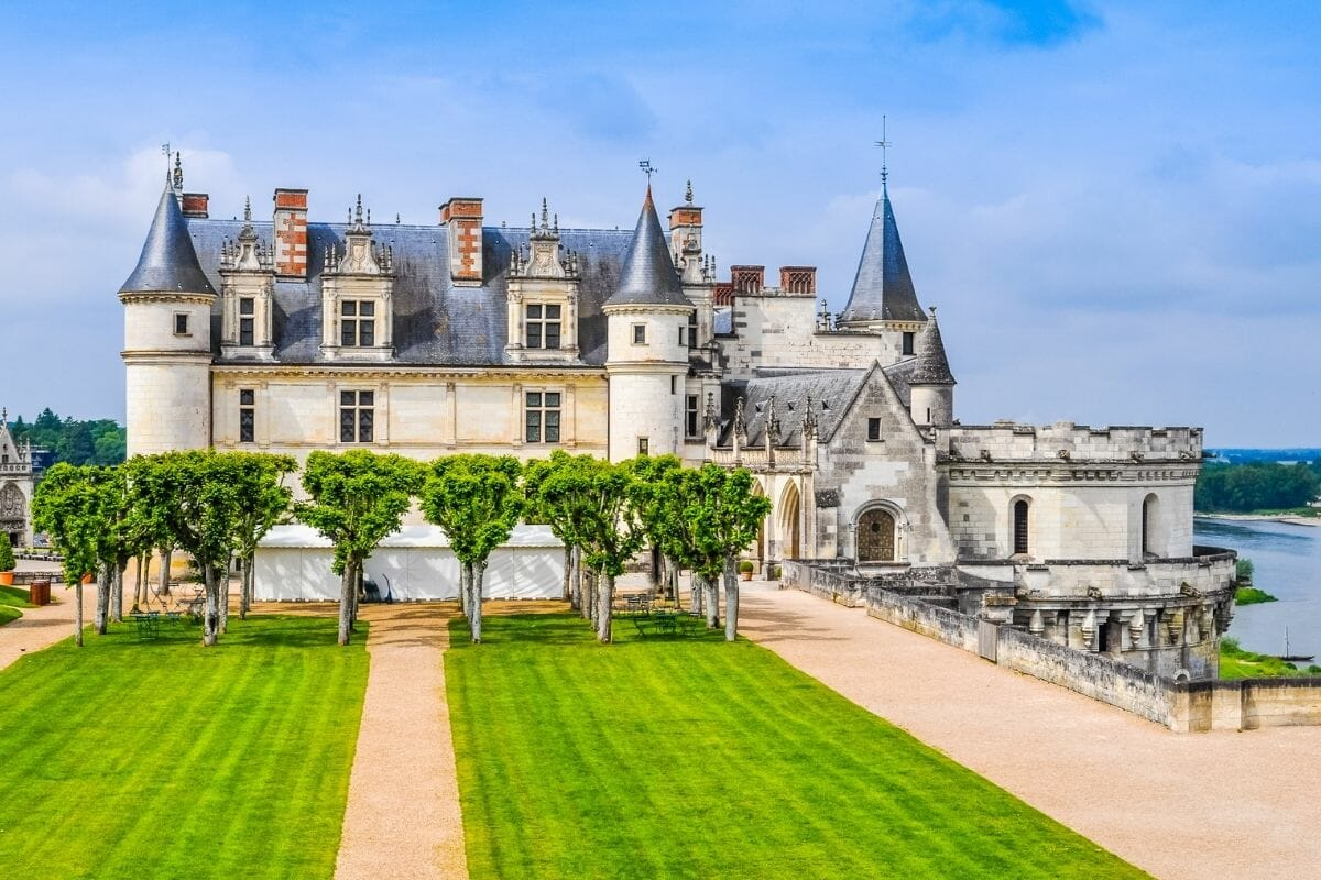 Chateau d'Amboise in France