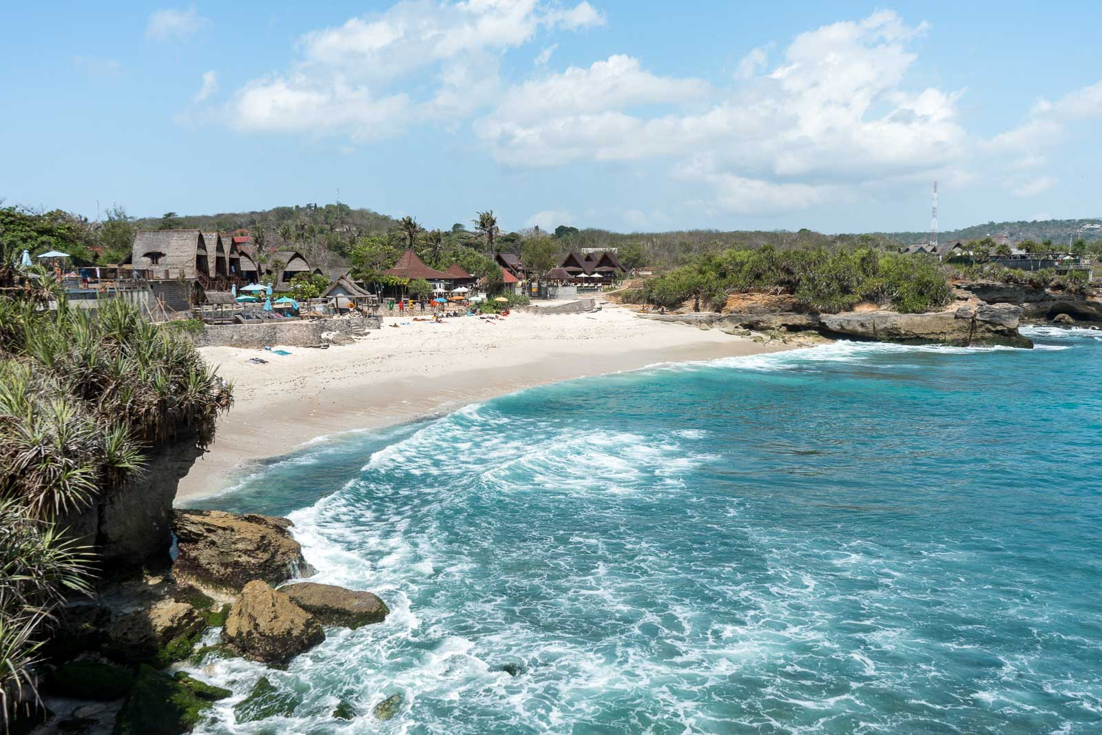 Dream Beach on Nusa Lembongan