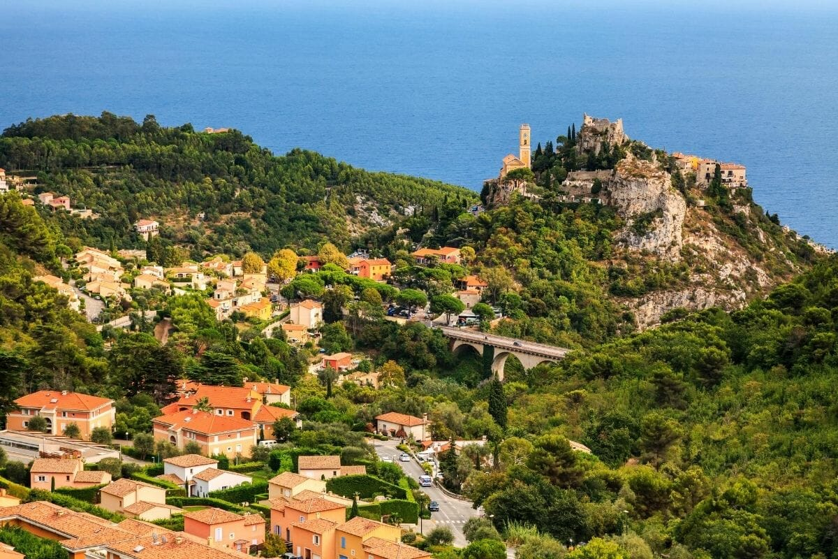 Eze Village on the hill, France
