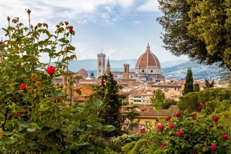 Giardino delle Rose in Florence, Italy