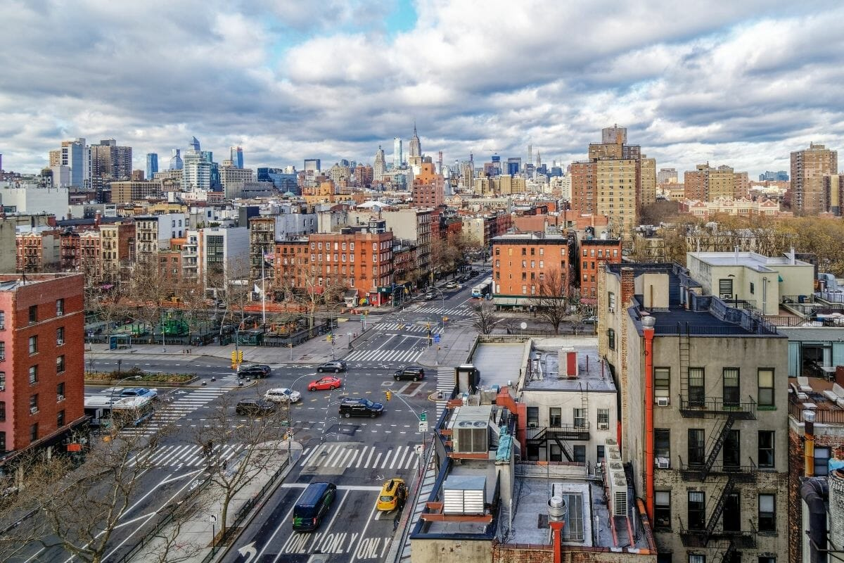 Lower East Side Skyline View