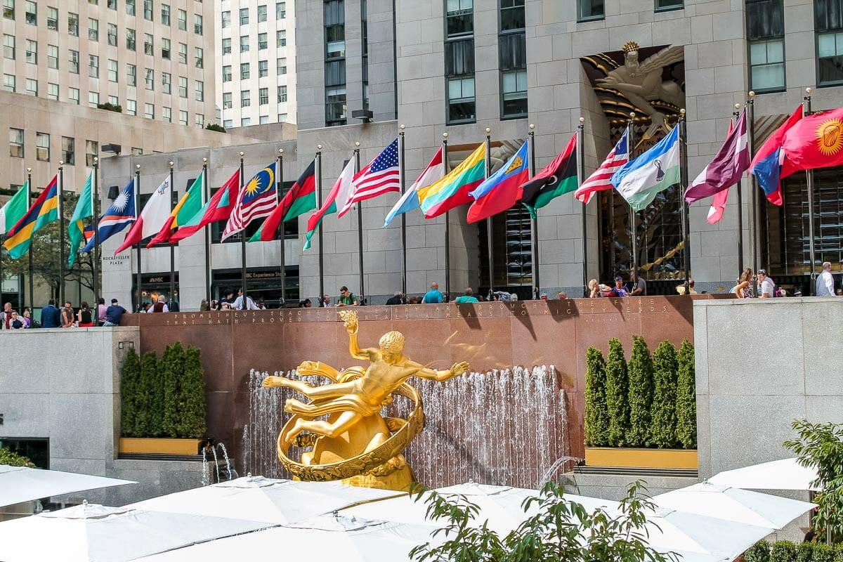 Rockefeller Center in New York City