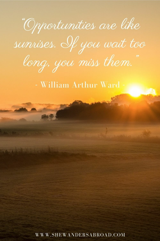 Inspirational sunrise quotes