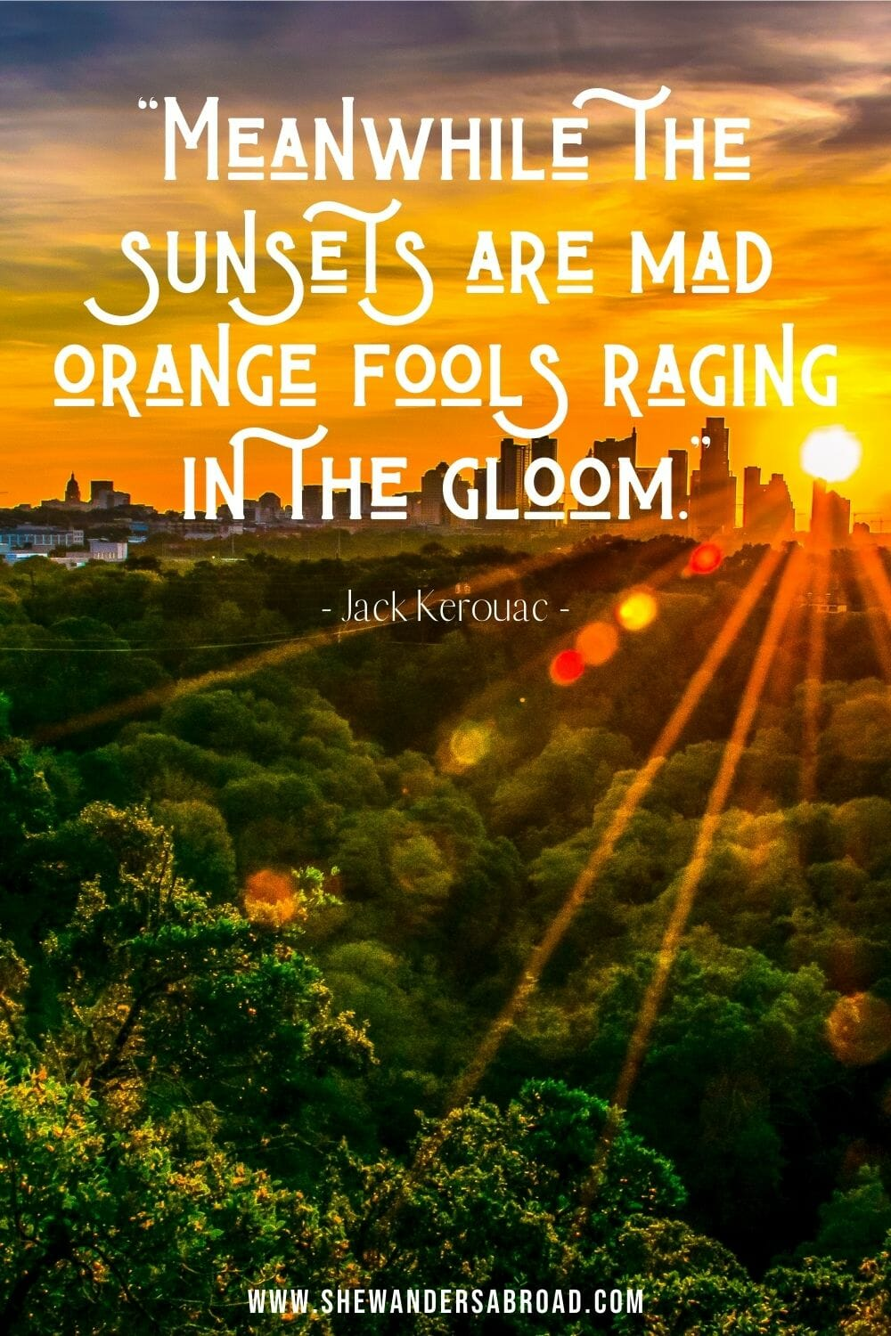Peaceful sunset quotes