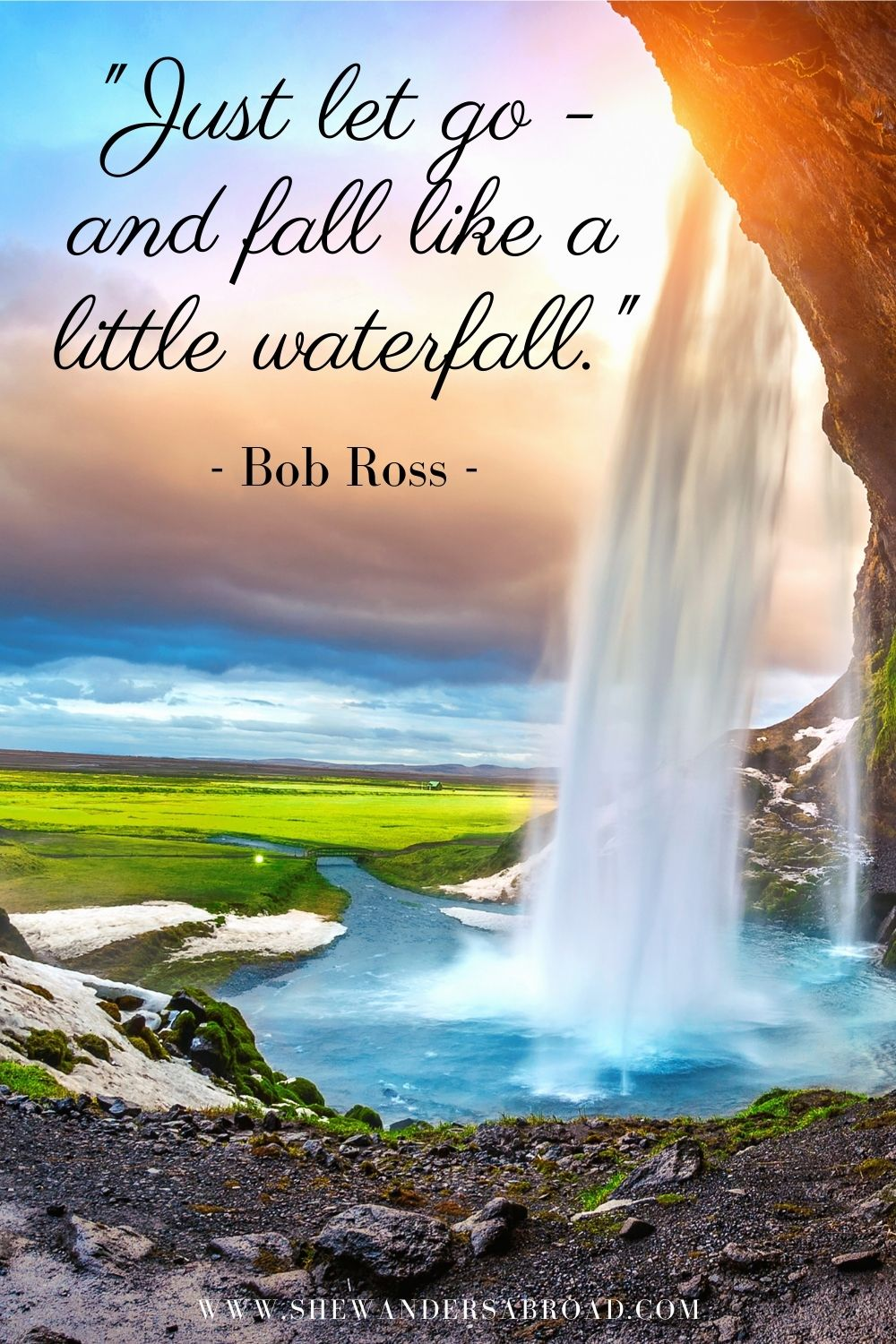 Best inspirational quotes about waterfalls
