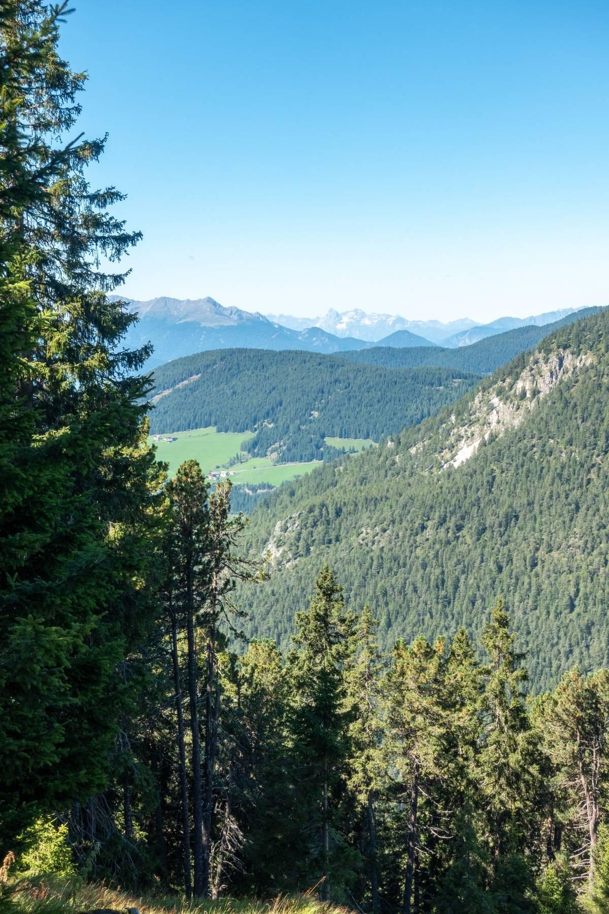 Adolf Munkel Weg in the Dolomites, Italy