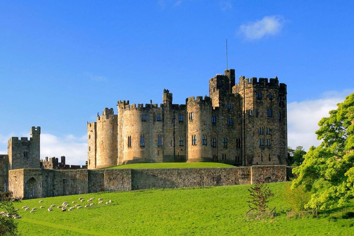 Alnwick Castle, England