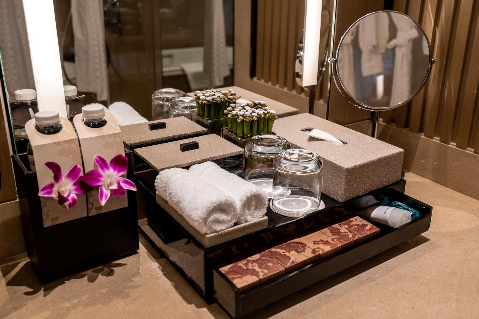 Bathroom at The Okura Prestige Bangkok