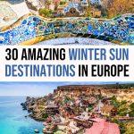 30 Best Winter Sun Destinations in Europe to Escape the Cold
