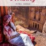 How to Find the Best Viewpoint in Petra - Treasury from Above