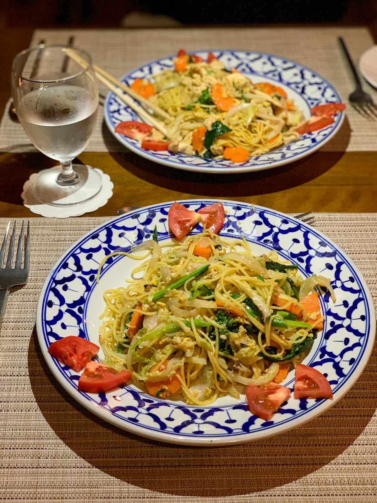 Dinner at Riverside Boutique Resort Vang Vieng 5