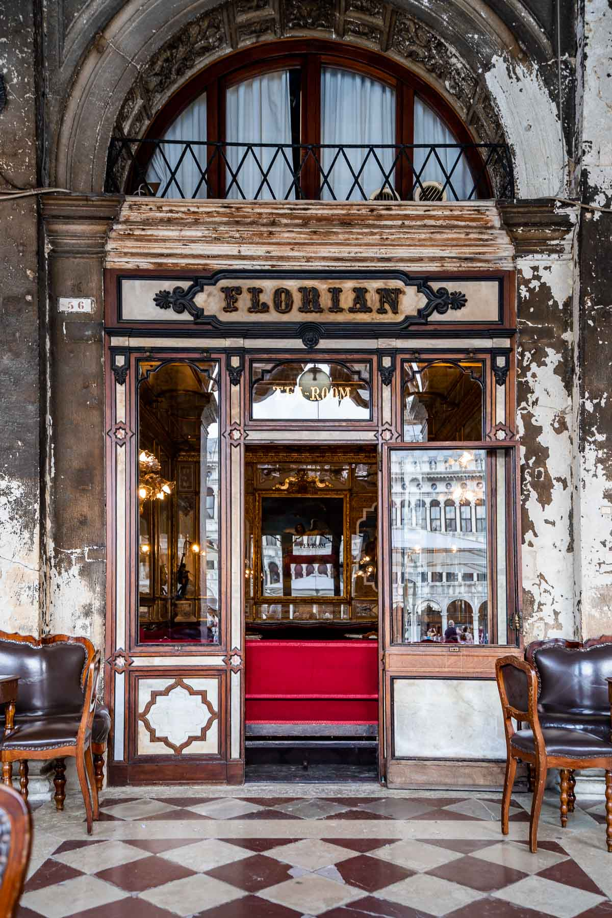 Florian Cafe in Venice, Italy