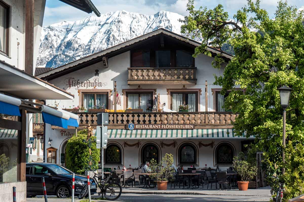 Little guesthouse in Garmisch-Partenkirchen in Bavaria, Germany