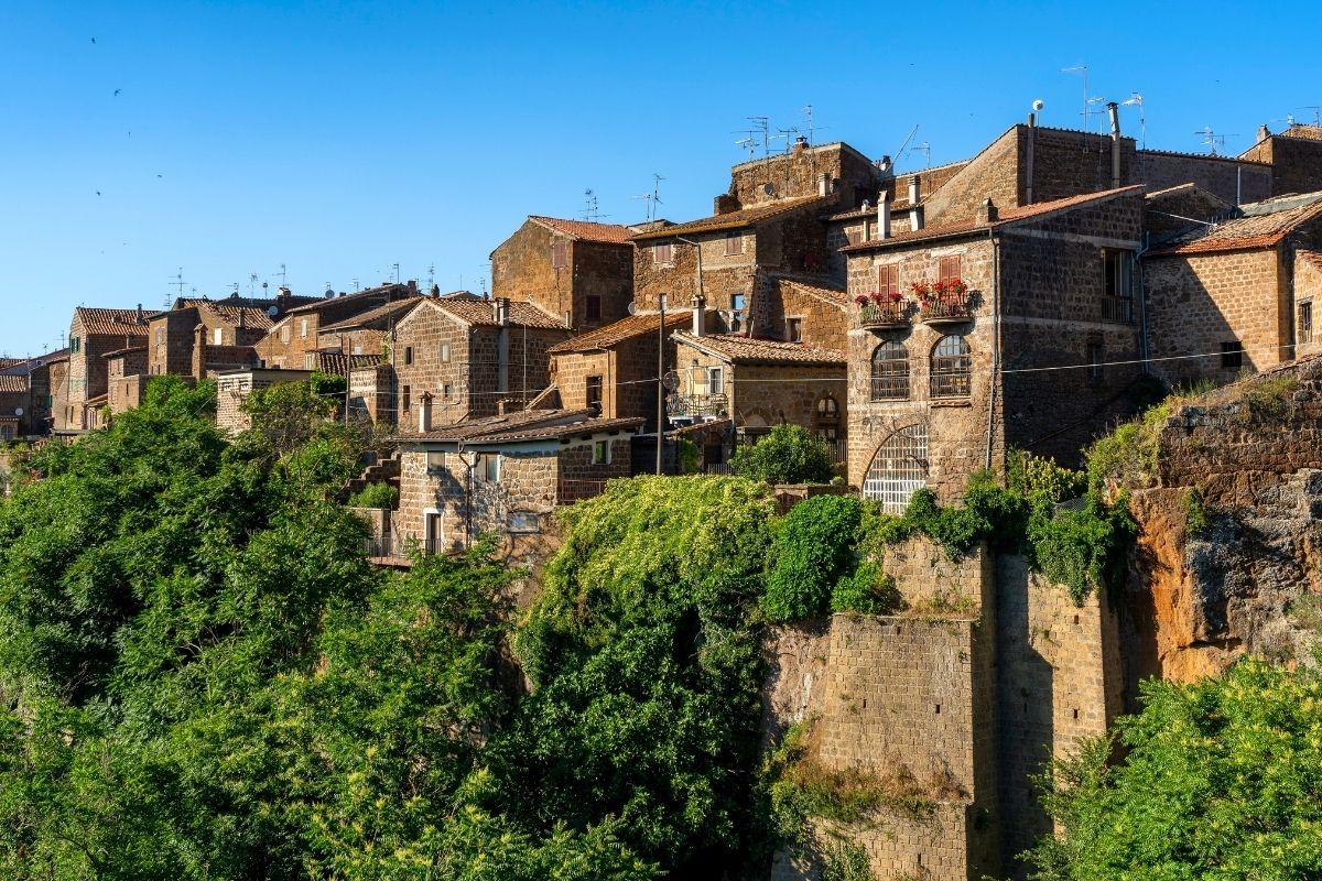 Historical village of Barbarano Romano, Italy