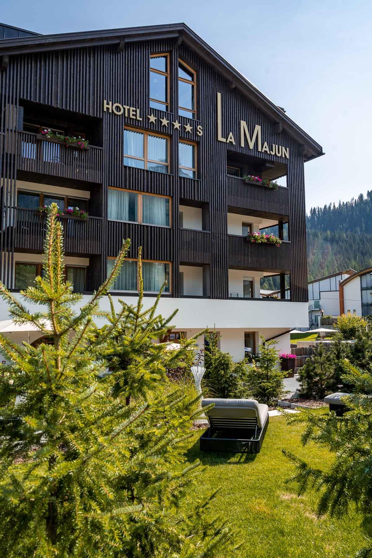 Hotel La Majun, an amazing hotel in La Villa in the Dolomites