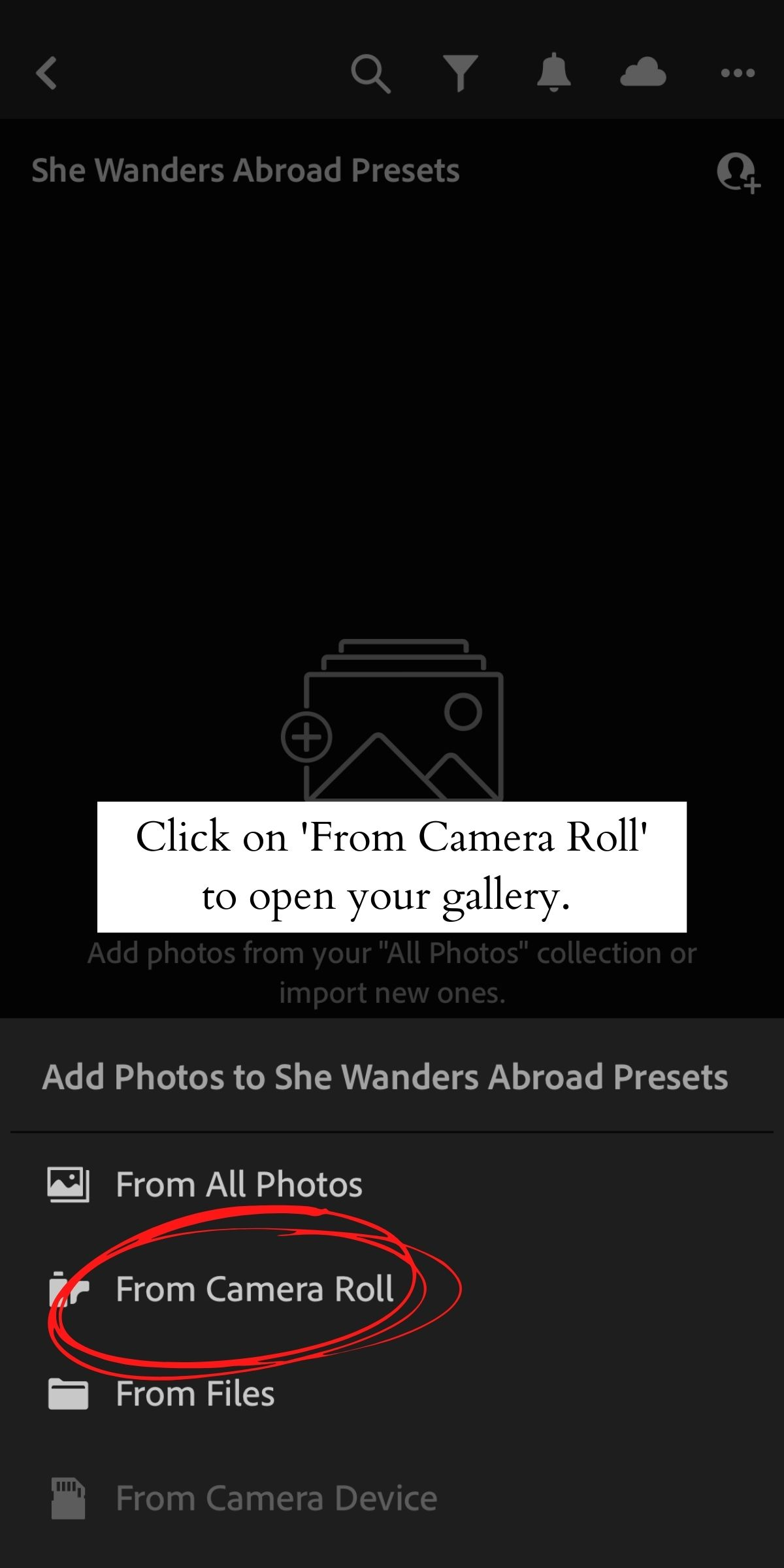 How to Install Lightroom Presets on Mobile 9