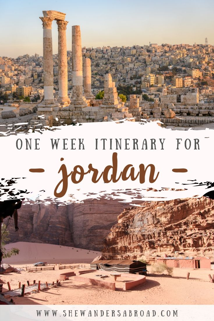 The Perfect Itinerary for Spending One Week in Jordan
