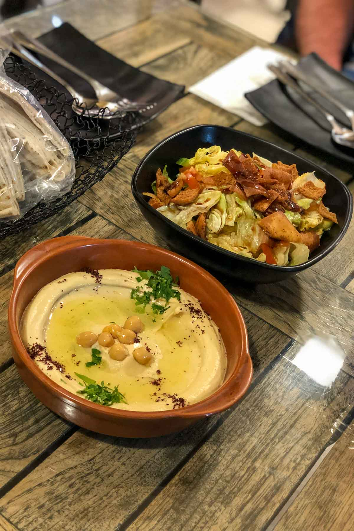 Dinner at the Khubza & Seneya in Aqaba, Jordan