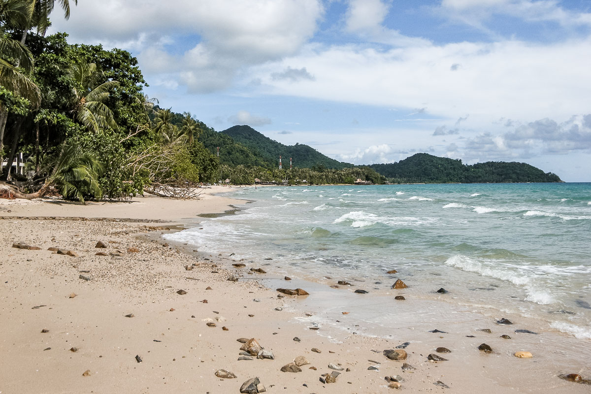 Beaches on Koh Chang, Thailand