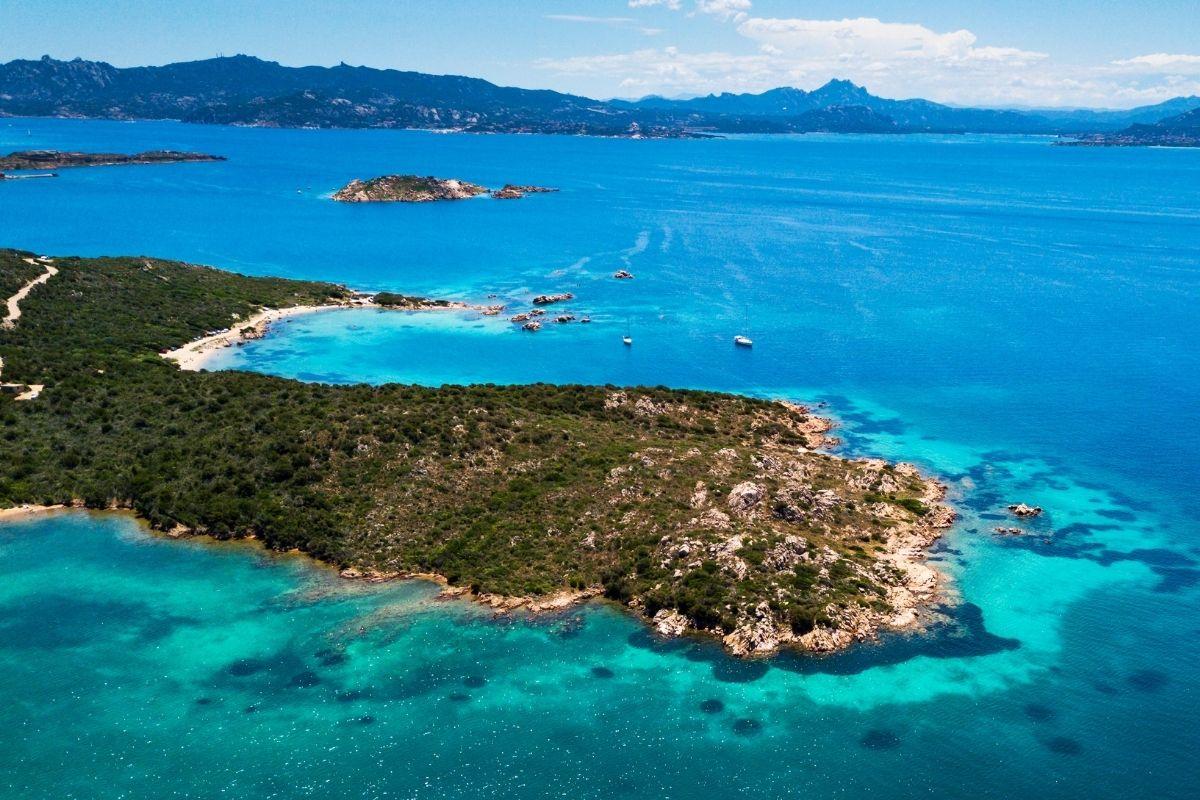 La Maddalena Archipelago in Sardinia, Italy