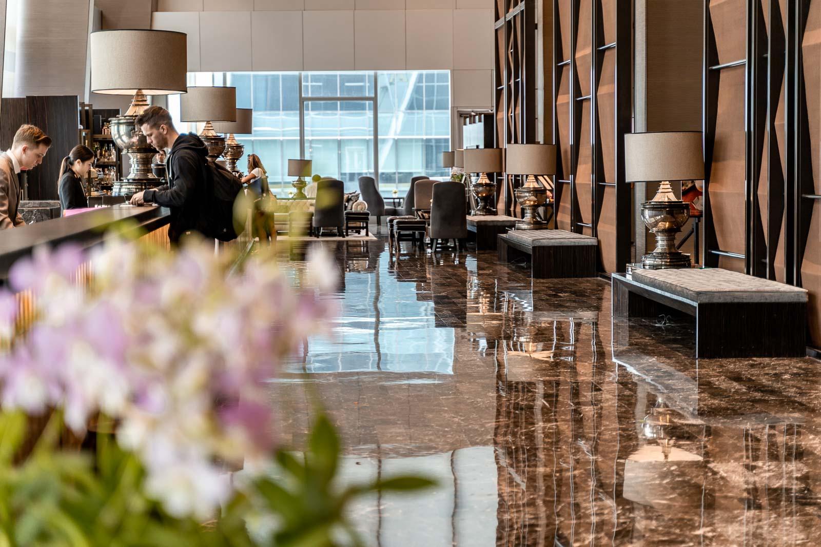 Lobby at The Okura Prestige Bangkok