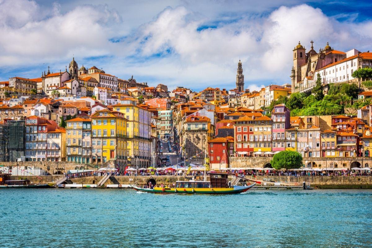 Old Town in Porto, Portugal
