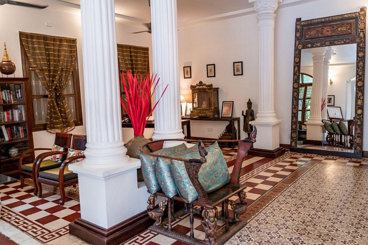 Lobby at Pavilion Phnom Penh, Cambodia