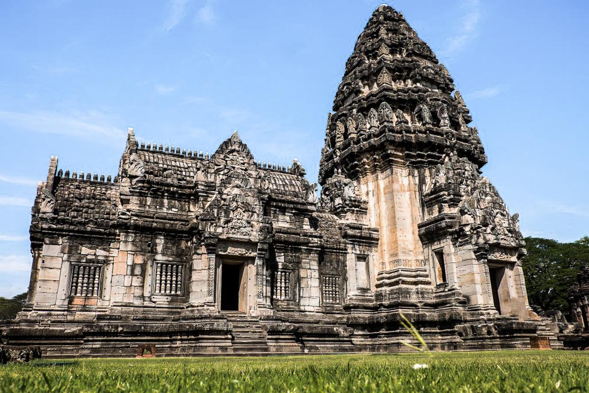 Ancient temples in Phimai, Thailand