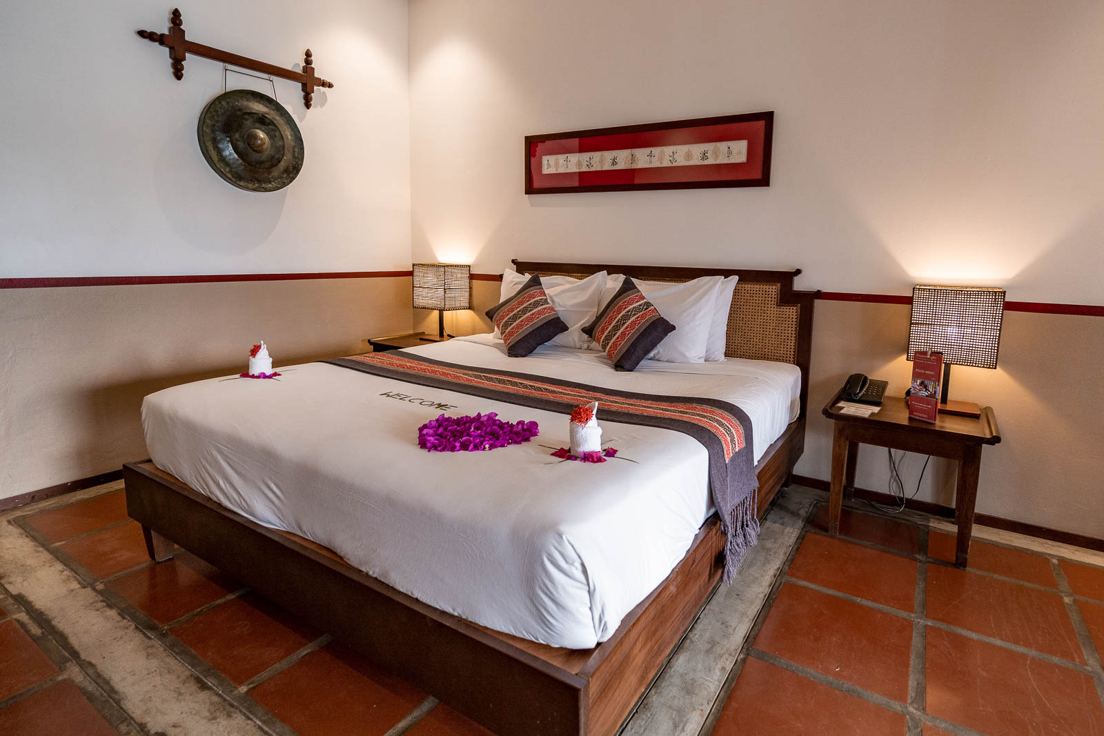 Bedroom at Riverside Boutique Resort Vang Vieng