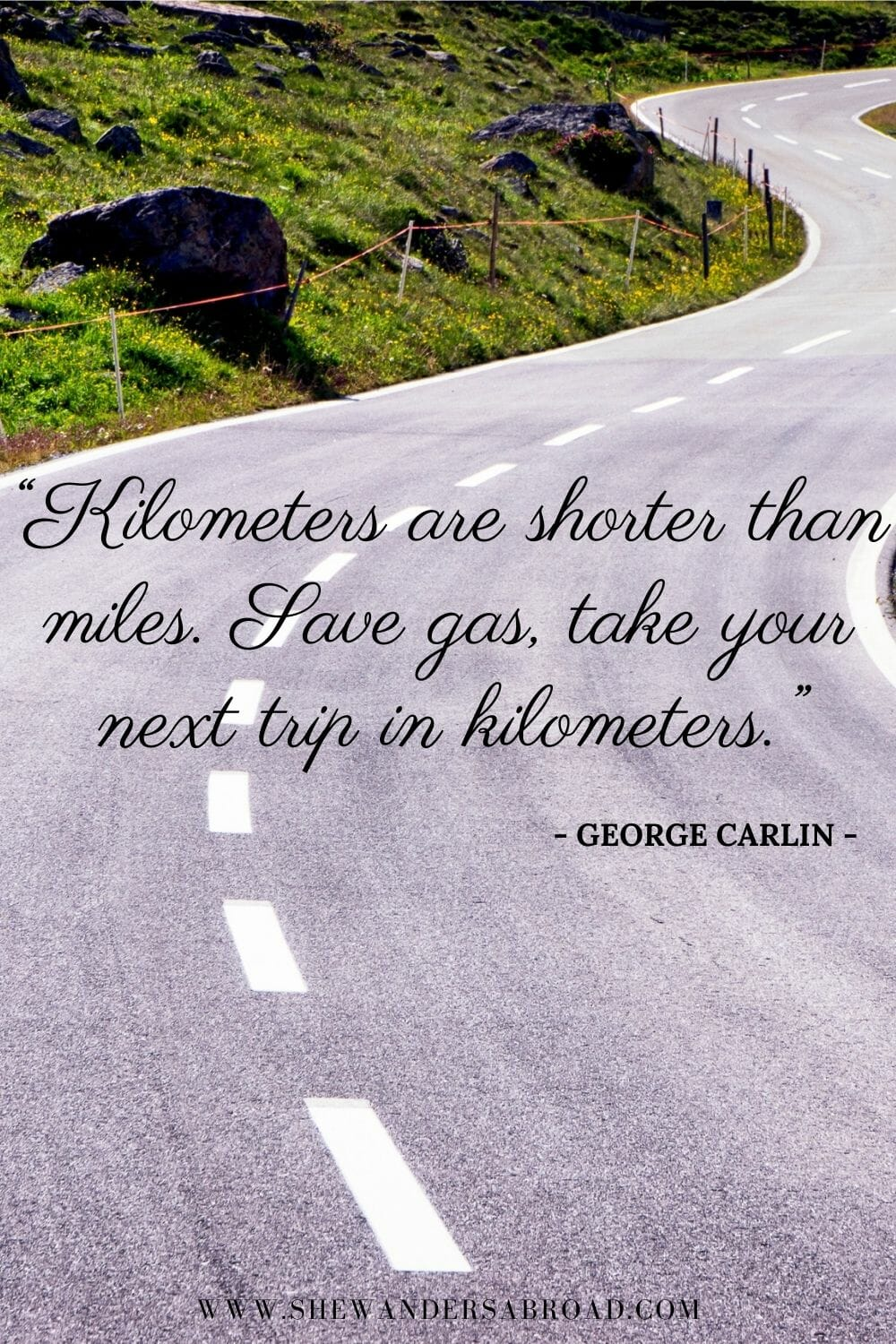 Funny quotes about road trips