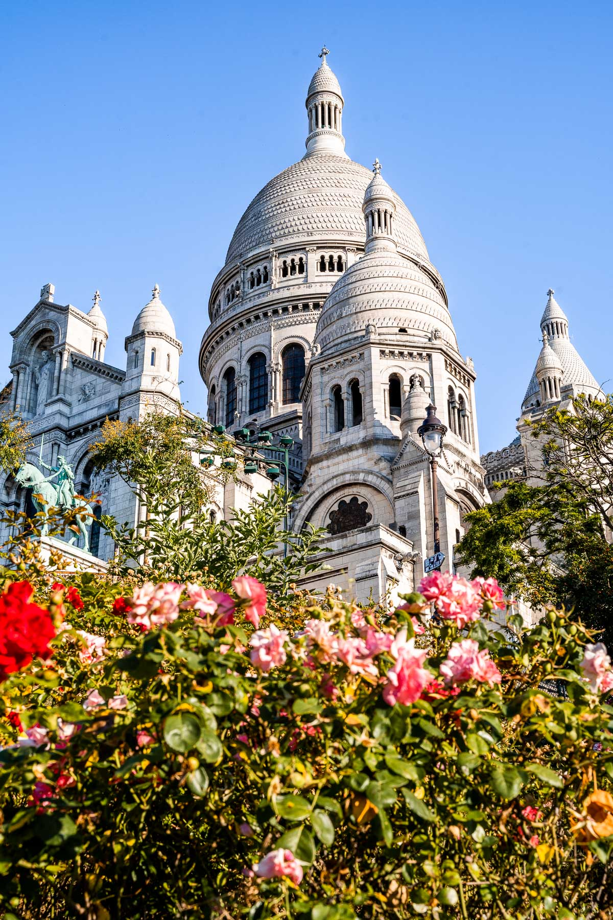 Sacre-Coeur Basilica in Montmartre, Paris