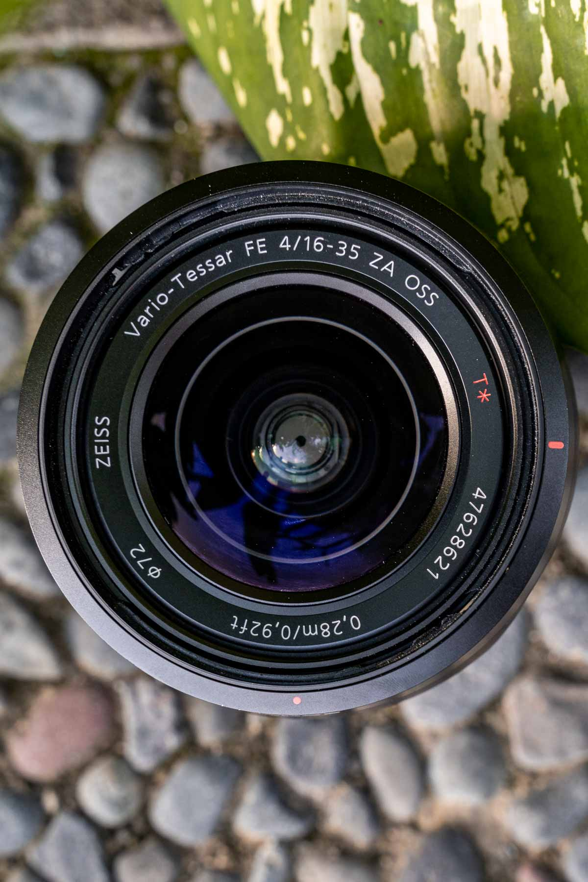 Sony 16-35mm f4 wide angle lens