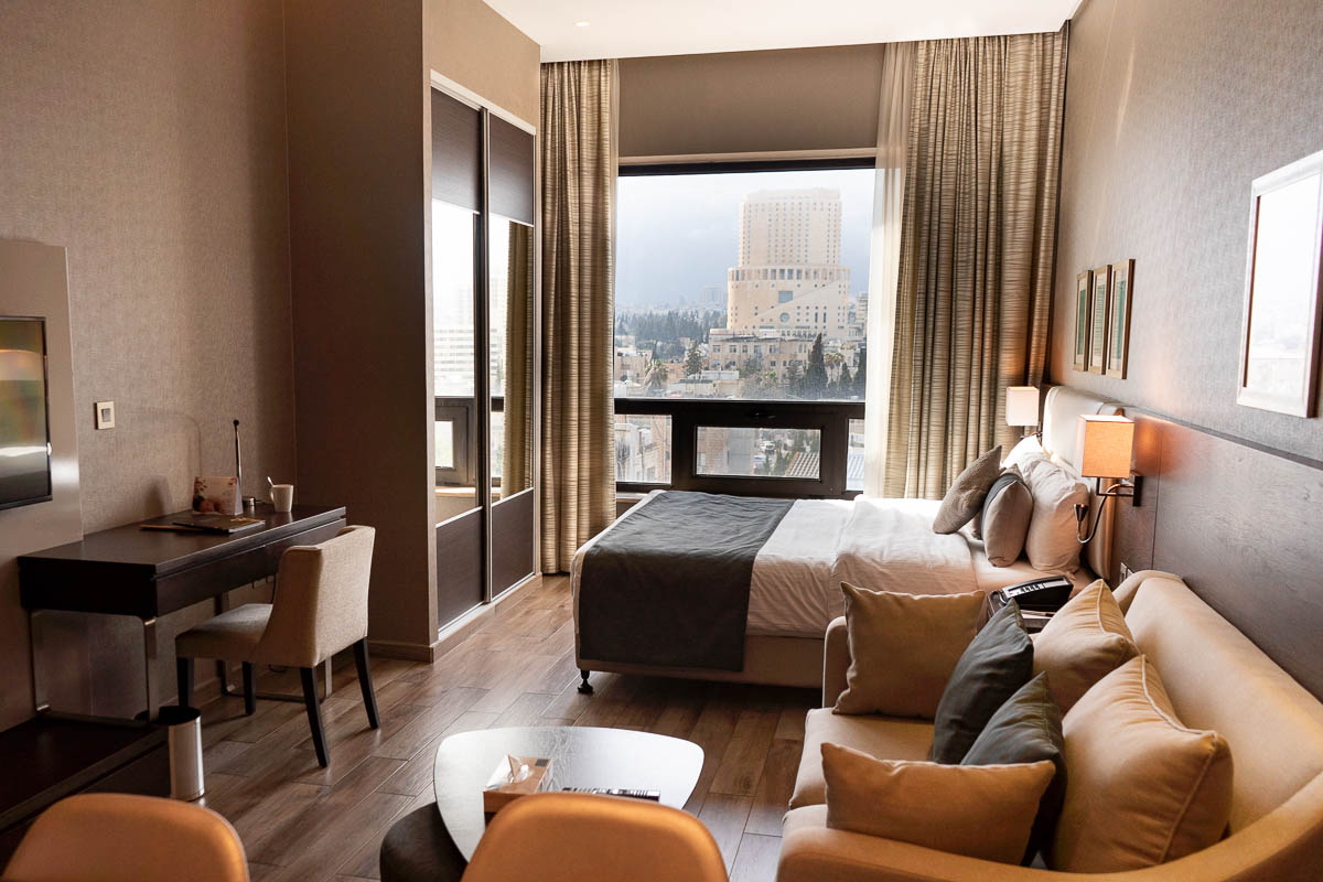 Bedroom at The House Boutique Suites in Amman, Jordan