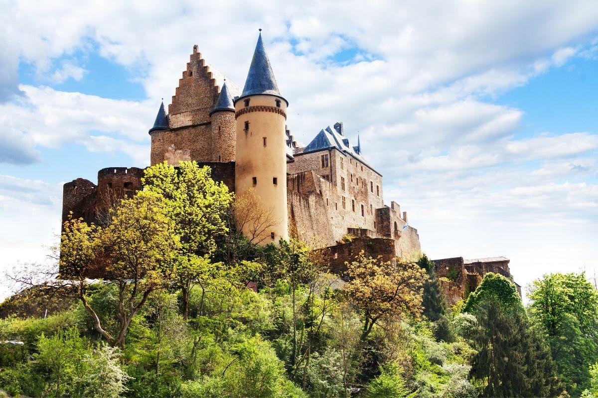Vianden Castle, Luxemburg