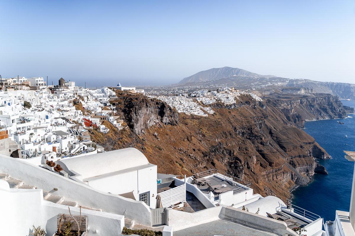 View in Imerovigli, Santorini