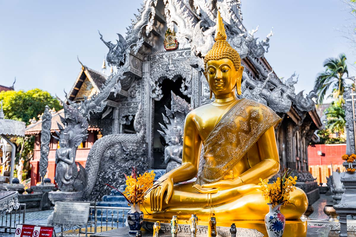 Wat Sri Suphan, the Silver Temple in Chiang Mai, Thailand