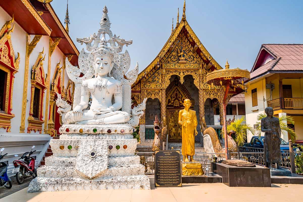 Wat Tung Yu Temple in Chiang Mai
