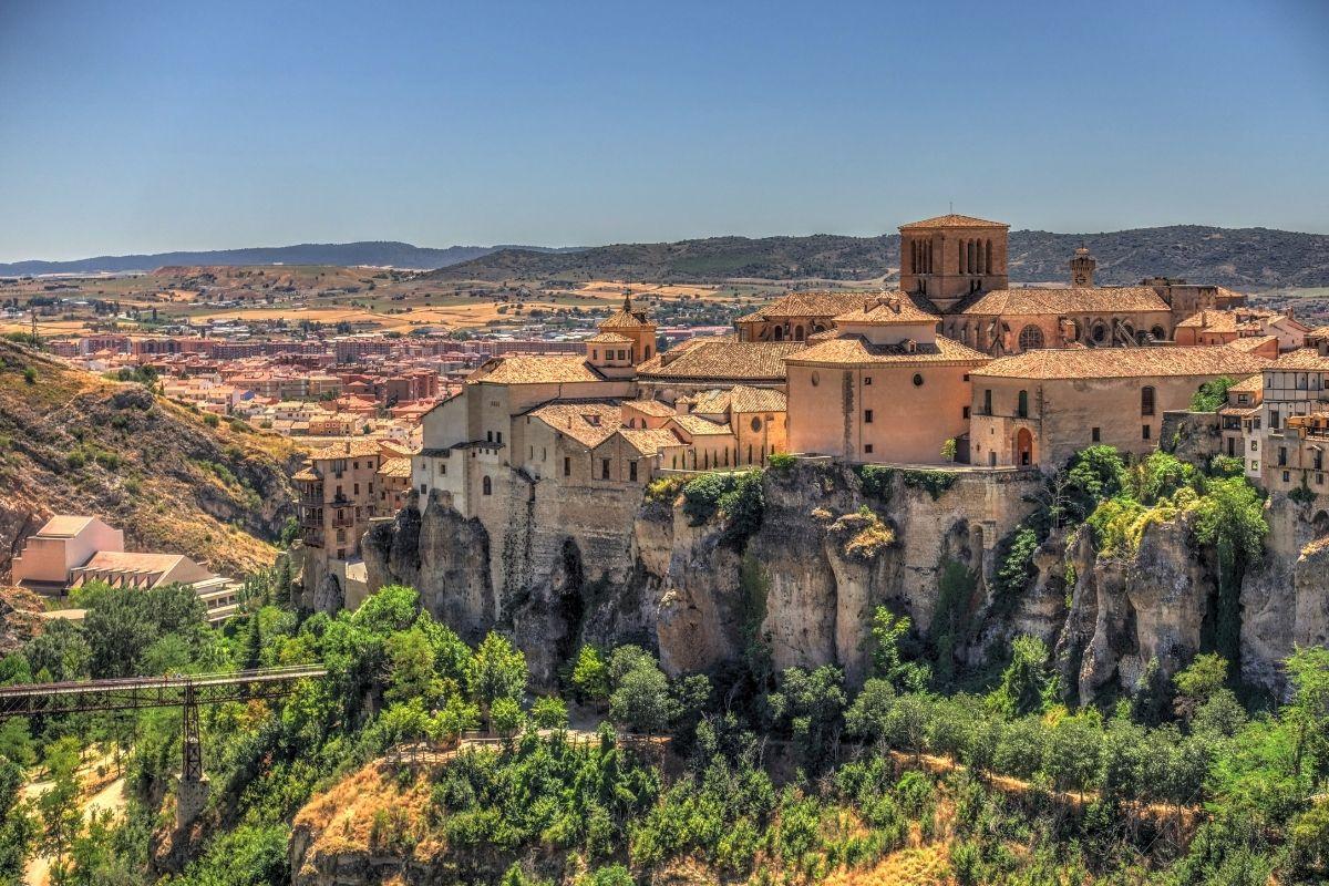 Hanging houses in Cuenca, Spain